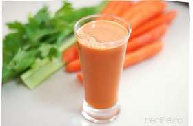 Suc din pulpa de morcovi